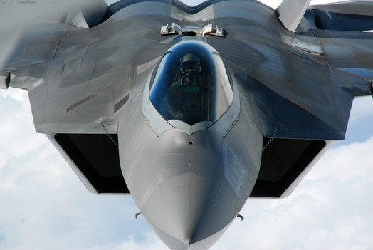 At stake is the Air Force's 21st-century strategy, which was to combine the supercharged and highly capable F-22 with the emerging joint strike fighter, an aircraft now in development that is expected to replace the F-16 as the Air Force's primary air-to-ground workhorse.