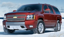 GM officials and industry analysts credit the new Suburban's aerodynamic design and carlike appointments - it offers front and rear air conditioning and heating controls - for helping it boost the size of its market.